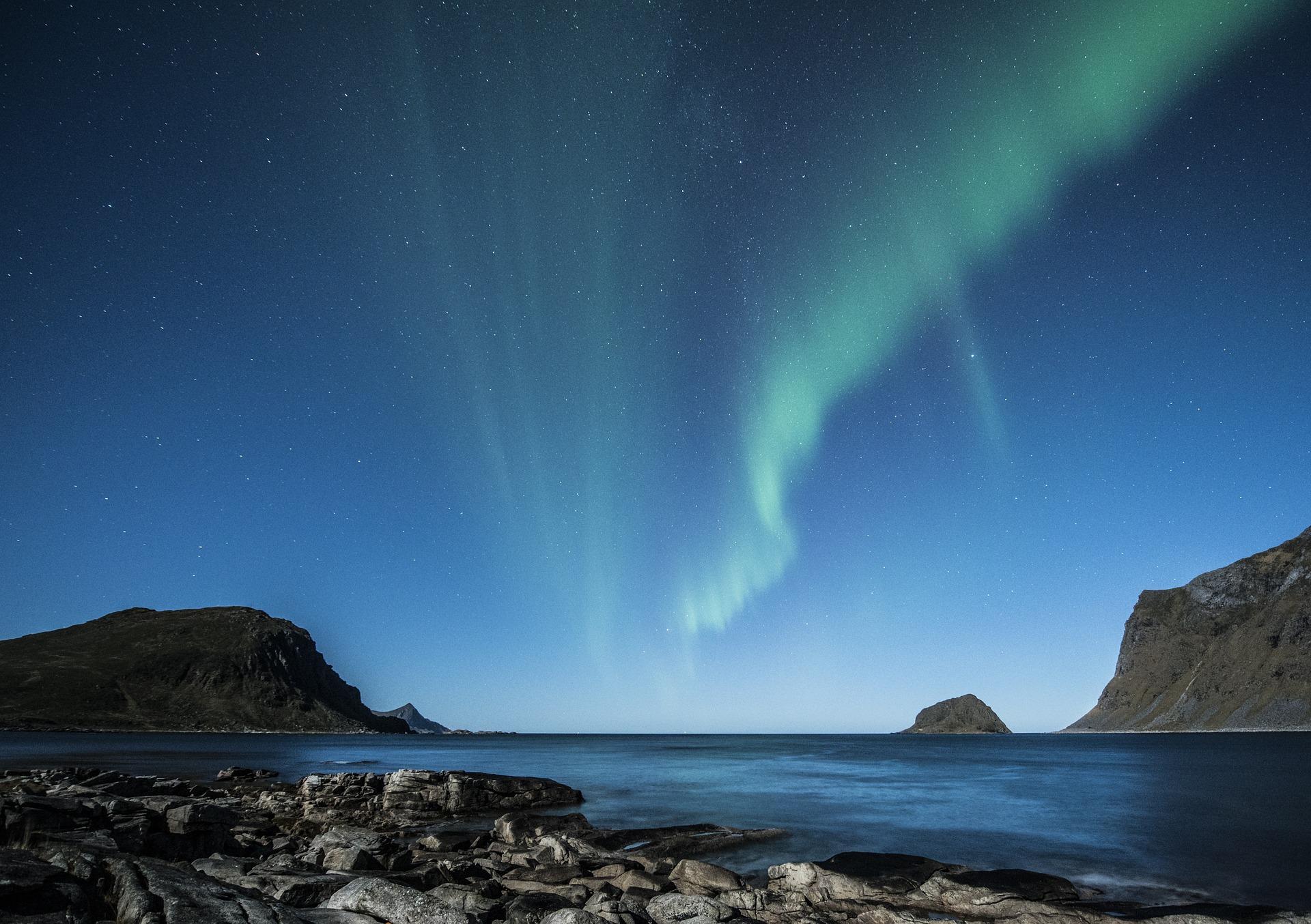 Wild natural Norway