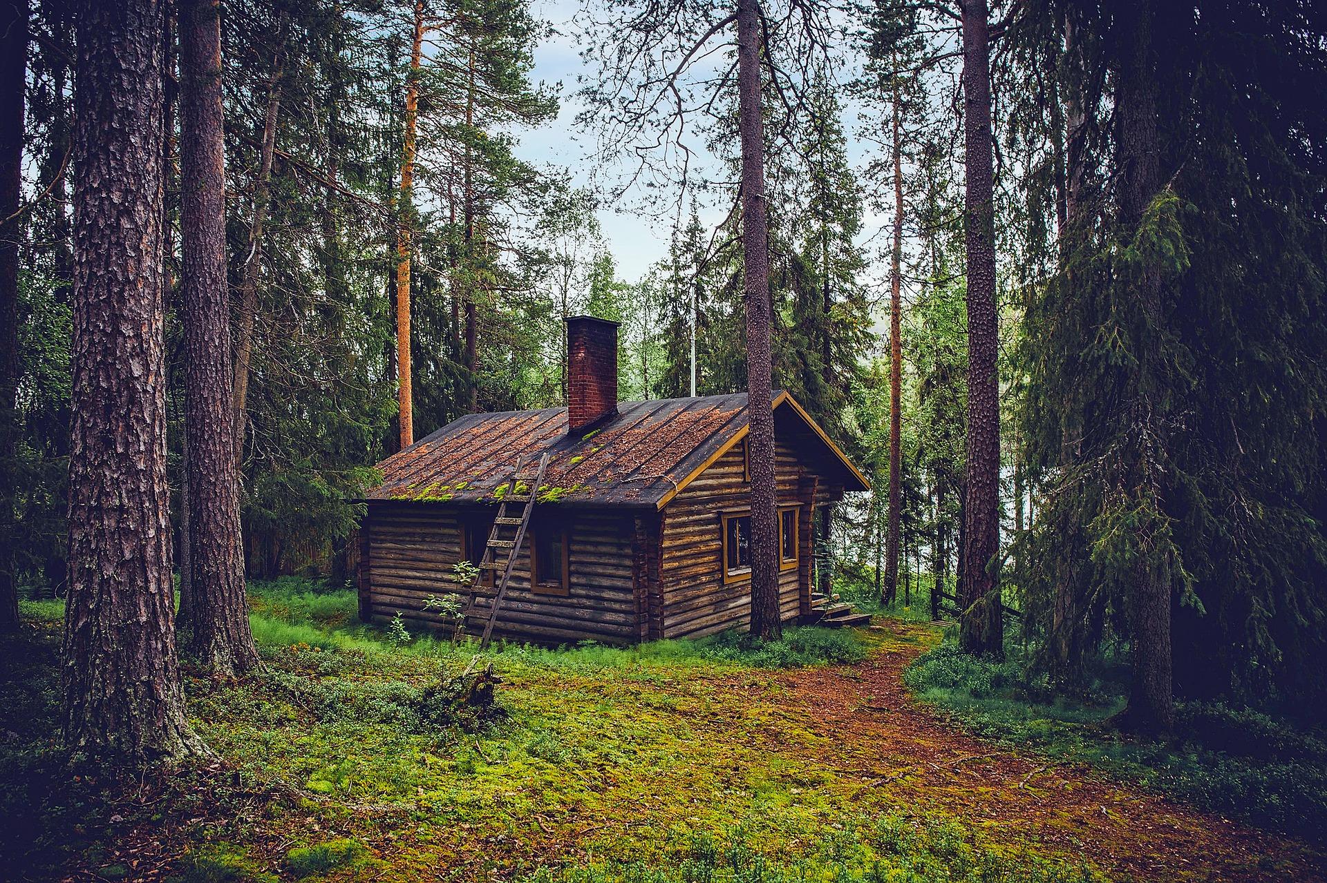 A Log Cabin in Finland