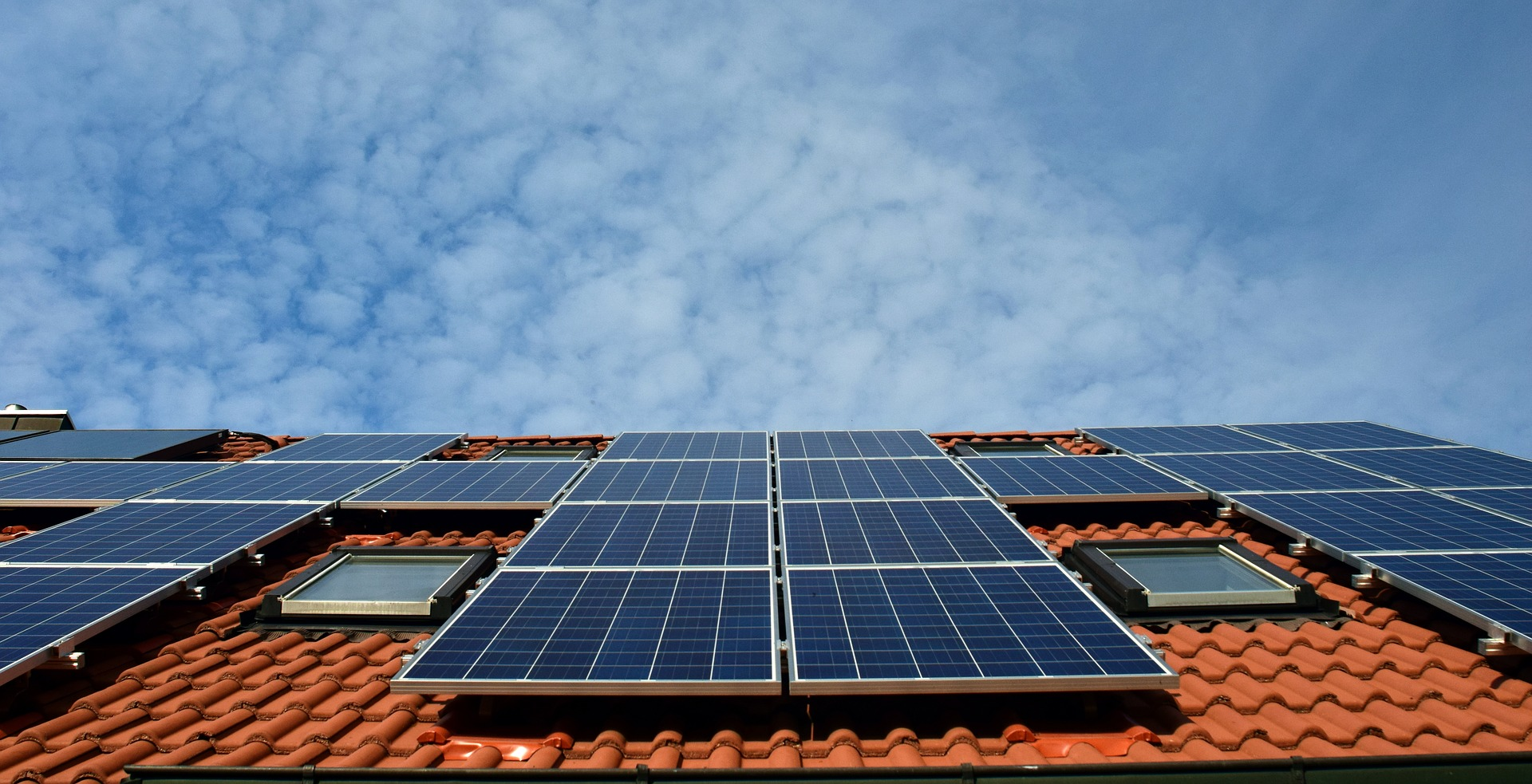 Now-a-day's Solar Panel on a House