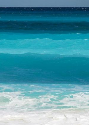 The Blue Environmentally Friendly Waves of the Ocean
