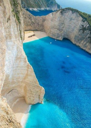 The Quiet and Secluded Shipwreck Beach in Greece